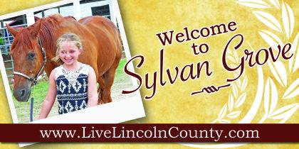 Sylvan Welcome Sign