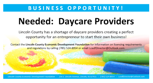 Needed: Daycare providers!
