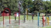 Sylvan Grove ideas for walking trails and splash pad