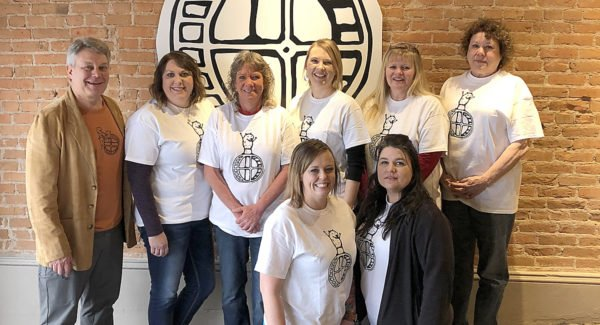 "Six Lincoln County business leaders recently attended the training workshop ""Destination Bootcamp,"" in Colorado, to learn new ways to attract and increase the number of customers and visitors to the area. Back row (L-R): Jon Schallert, marketing consultant, Jennifer O'Hare, Sue Graham, Kelly Larson, Carly SeirerErrebo, Ronda Mishler. Front row: Alisha DeWitt and Angela O'Bannon. (Courtesy photo)"