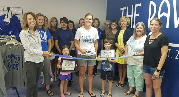 The Paw Print, a student-run merchandise business of USD 298, opened a new storefront at the end of June. The new store is attached to the USD 298 Board Office, which is located at 133 E. Lincoln St. in downtown Lincoln.