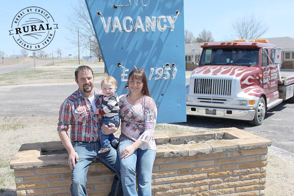 Jared Spear & Lisa Simmons are Rural by Choice in Lincoln County, KS. (Photo by Becky Rathbun)