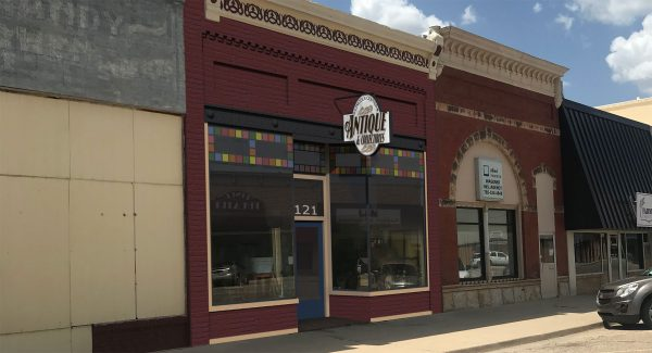 Lincoln Center Antiques & Collectibles was one of eight summer projects that were part of the Downtown Design Assistance Program. The goal of the program is to work with property owners and develop plans to improve their exterior and/or interior spaces. The proposed improvements for Lincoln Center Antiques & Collectibles are shown below.