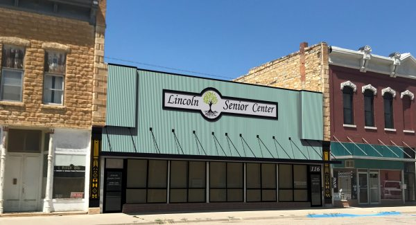 The Lincoln Senior Center was one of eight summerprojects that were part of the Downtown Design Assistance Program. The goal of the program is to work with property owners and develop plans to improve their exterior and/or interior spaces.The proposed improvements for the Lincoln Senior Center are shown below.