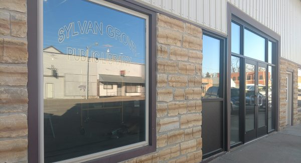 The Sylvan Grove Public Library Downtown Design Assistance project is underway