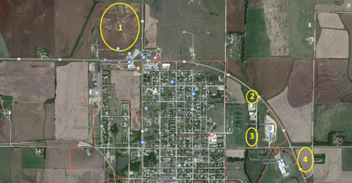 Free commercial properties in Lincoln County, Kansas